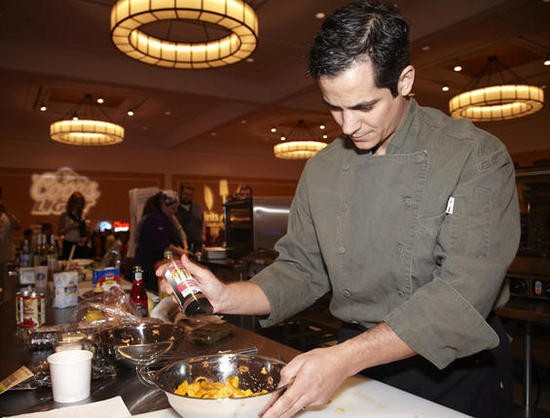 Jason Tilford of Milagro Modern Mexican, winner of the Iron Fork 2012 chef competition - STEVE TRUESDELL