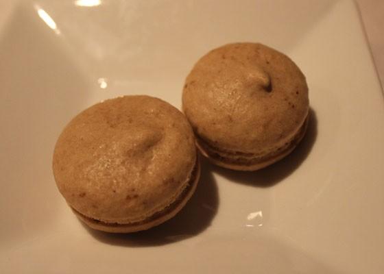 Espresso macarons.   Nancy Stiles