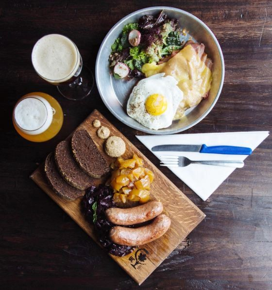 German fare at Urban Chestnut | Emily McDonald