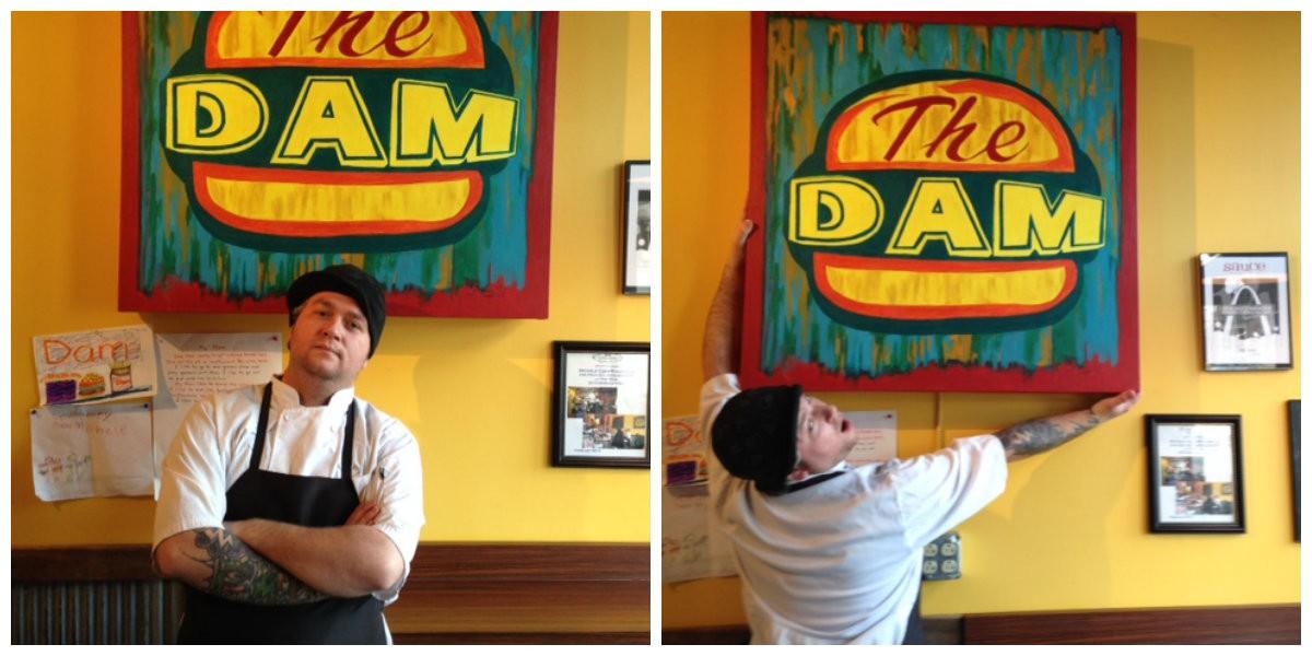 Chef Matt Galati of the Dam. | Cheryl Baehr