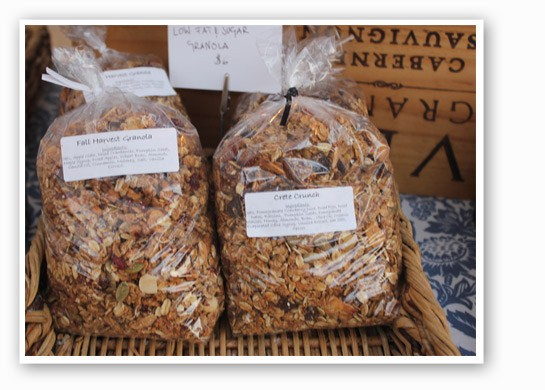 4 Seasons Bakery suggests pairing their toasty granola with some yogurt. | Cheryl Baehr