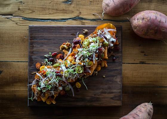 Turkey nachos. - JENNIFER SILVERBERG
