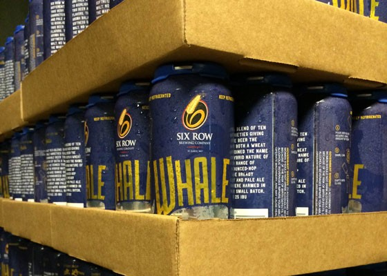 Whale cans ready to go. | Evan Hiatt