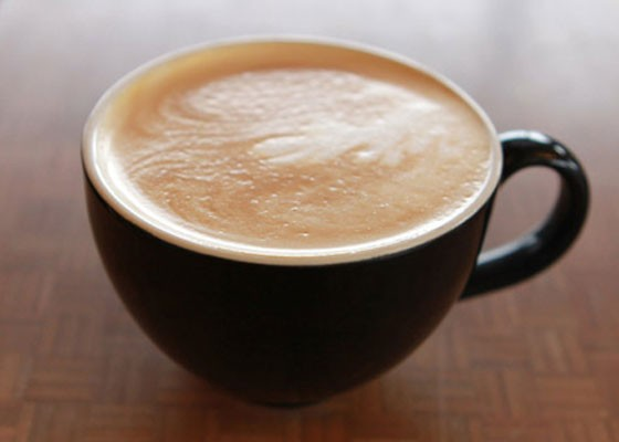 A vegan-friendly pumpkin-spice latte at Foundation Grounds. | Zoe Kline