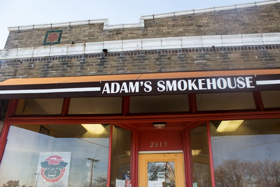 Adam's Smokehouse, on Watson Road in Clifton Heights.
