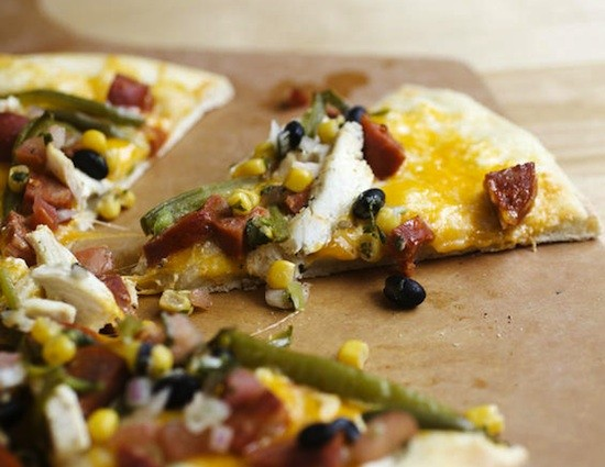 """The """"South of the Border"""" pizza at PW Pizza - JENNIFER SILVERBERG"""