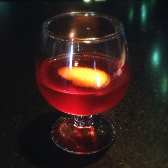 "An aged ""Vieux Carre"" at Sanctuaria. 