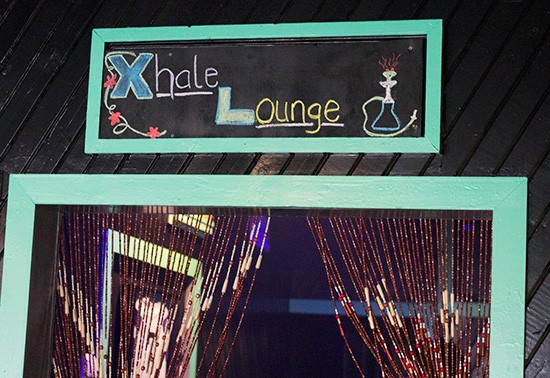 "The ""Xhale Lounge"" features pillow-top seating."