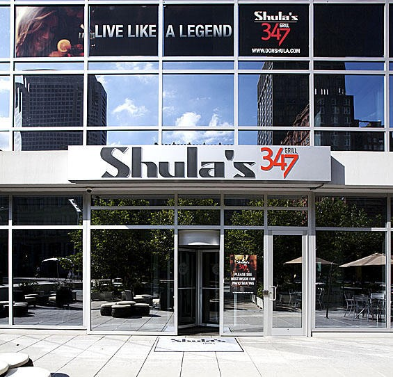 Shula's 347 Grill as it appeared this summer. - JENNIFER SILVERBERG