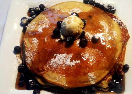 Pancakes at Benton Park Cafe | Nicole Costello