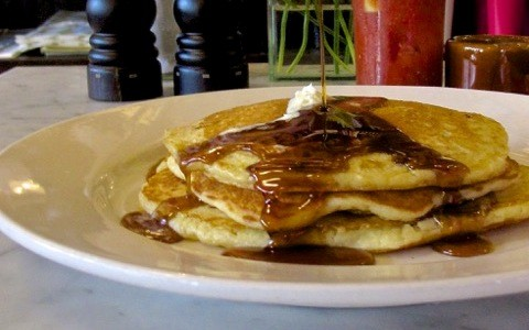 Buttermilk pancakes at Winslow's Home | Ann Sheehan Lipton