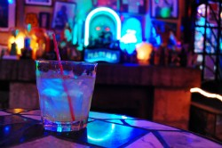 A whiskey sour from the Venice Café. - CAILLIN MURRAY