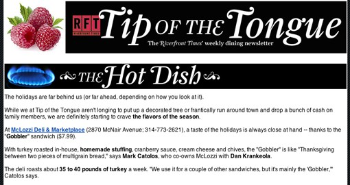 Sign up for Tip of the Tongue here.