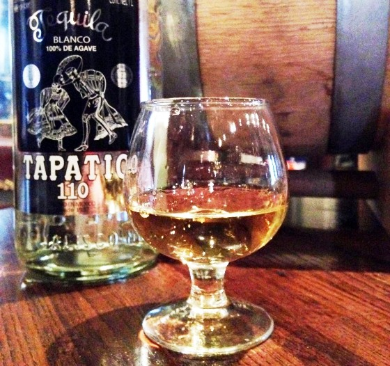BARREL-AGED TAPATIO REPOSADO TEQUILA AT SANCTUARIA | WIL PELLY