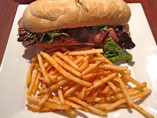 The BLT sandwich, with fries, at Quincy Street Bistro | Ian Froeb
