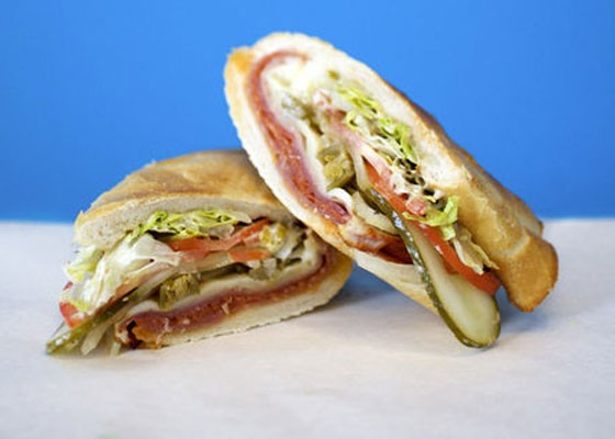 The Italian sandwich at Snarf's, which recently opened near SLU. | Jennifer Silverberg