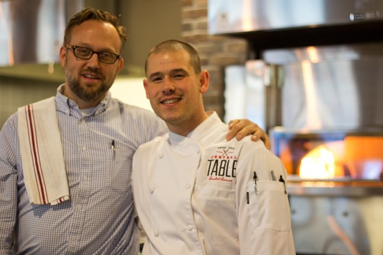 General manager Matt McGuire and executive chef Nick Martinkovic (formerly of Roberta's in Brooklyn, New York). - MABEL SUEN