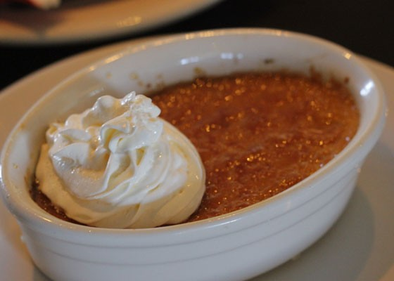 Pumpkin creme brulee. | Nancy Stiles