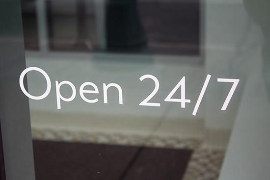 Now open 24/7.