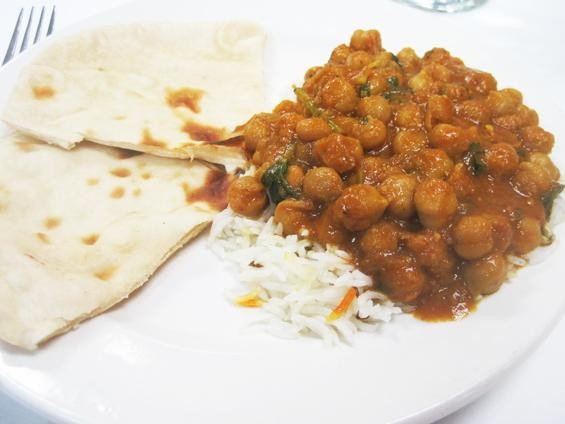 The channa masala at Raj's Rasoi - IAN FROEB