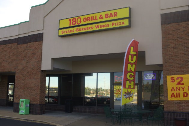 180 Grill and Bar is now open in the former Frederick's Steakhouse space. - CHERYL BAEHR
