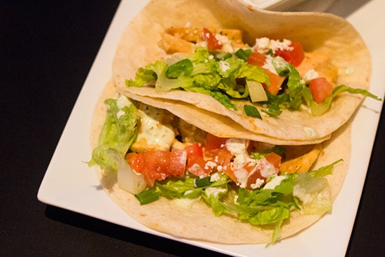 Another daily special features a pint and three tacos for $9.95.
