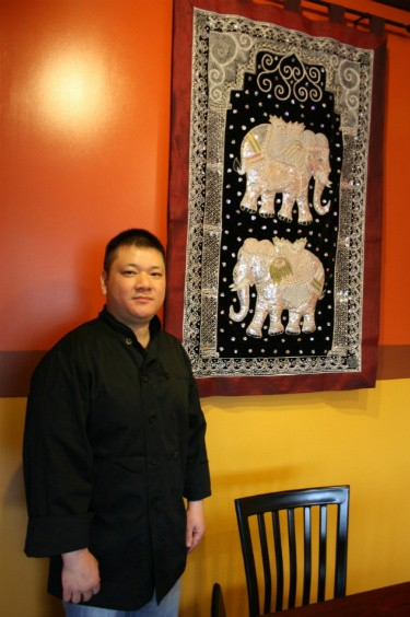 Scott Truong (pictured) and his brother, Tommy, decorated Pearl Cafe, down to every last detail. - CHRISSY WILMES