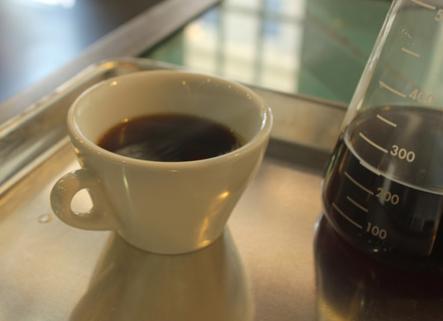Cesmach coffee: It's better from a beaker. - NANCY STILES