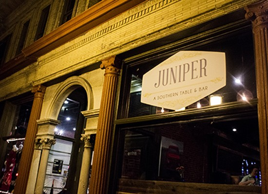 Outside Juniper in the Central West End. - MABEL SUEN