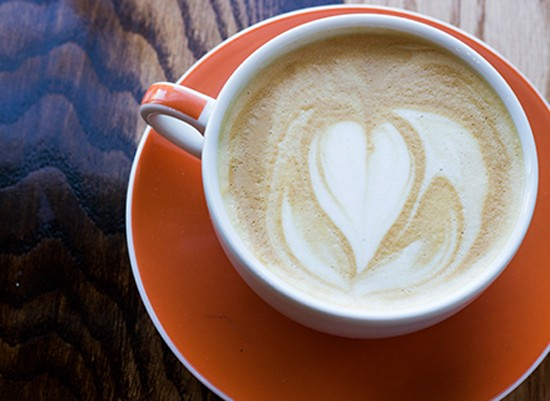 Rise's latte ($4). - MABEL SUEN