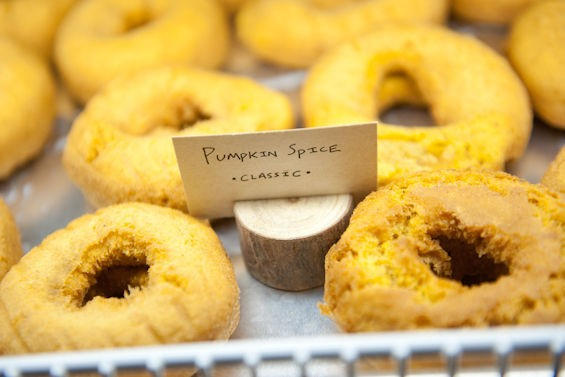 The pumpkin spice classic donut. - JON GITCHOFF