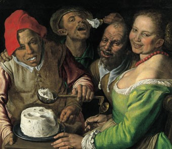 """The Ricotta Eaters"" - Vincenzo Campi - WIKIMEDIA COMMONS"