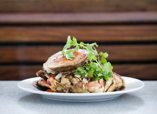 Dungeness crab with tamarind at St. Louis Pho - JENNIFER SILVERBERG
