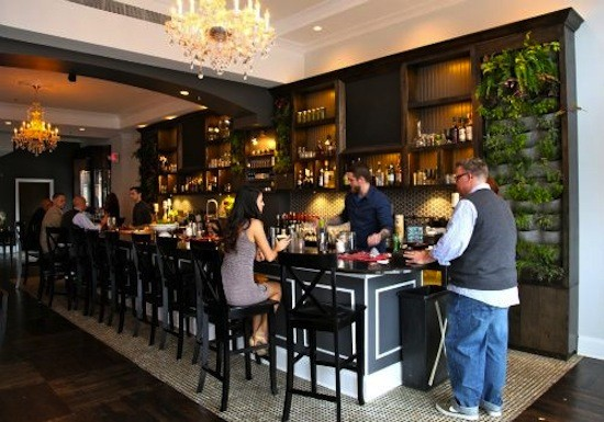 The bar at Blood & Sand - RFT PHOTO