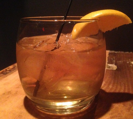 """The """"Oaxaca Old Fashioned""""  at the Night Owl. 