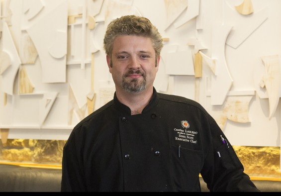 Executive chef Sean Scott. | Mabel Suen