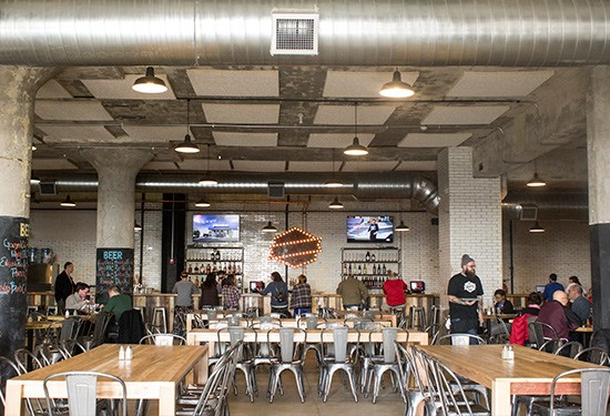 The pub at the Old Bakery Beer Company. | Photos by Mabel Suen