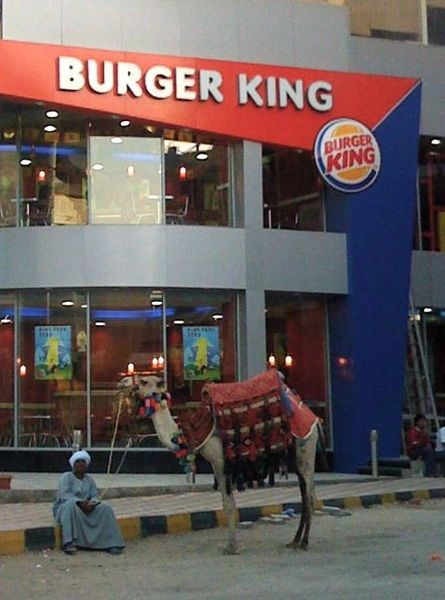 Burger King now has an even greater global presence! - IMAGE VIA