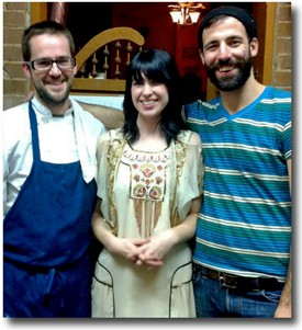 Mud House partners: Bork with co-owners Casey and Jeremy Miller. - HOLLY FANN