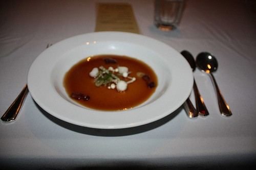 The lamb consommé - KELLI BEST-OLIVER