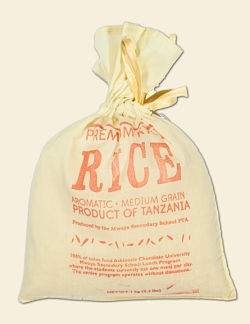 Not chocolate rice. Not puffed rice in chocolate. Just rice. - IMAGE VIA