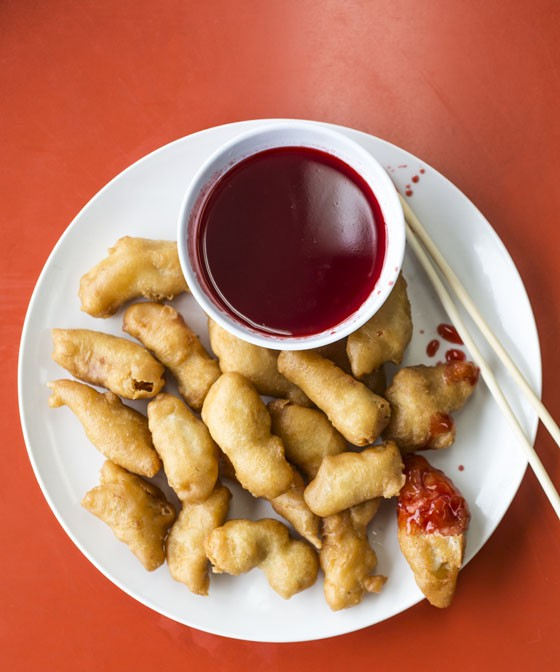 Sweet and Sour chicken.   Jennifer Silverberg