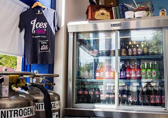 A selection of Excel Bottling Company sodas and more.