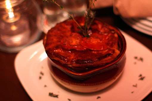 The vegetable pot pie at Lola. See more photos from Lola in our slideshow. - PHOTO: CRYSTAL ROLFE