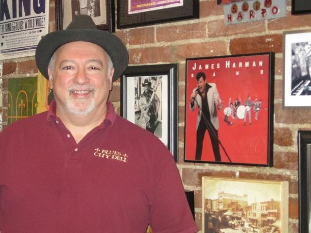 Blues City Deli owner Vince Valenza - ROBIN WHEELER