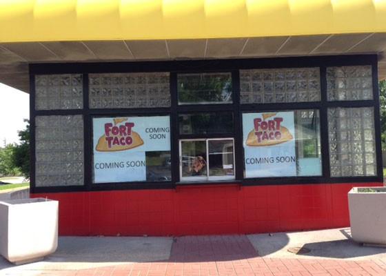 The future Fort Taco. | Nancy Stiles
