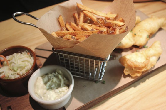 The Restaurant at the Cheshire's house cut fries | Nancy Stiles