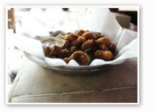 Fried gator at Broadway Oyster Bar. | Zach Garrison
