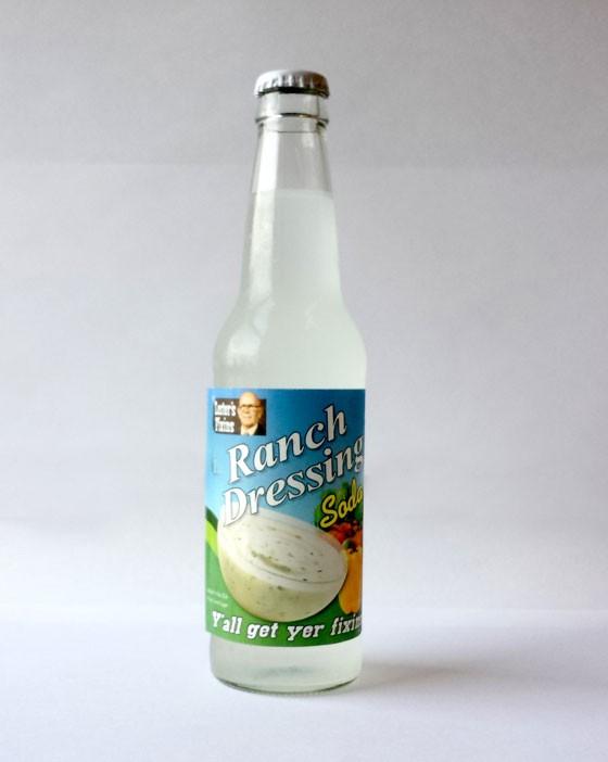 Ranch Dressing soda.   Jessica Lussenhop