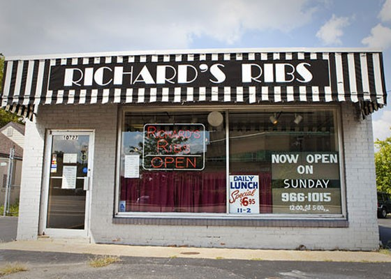 Richard's Ribs in Kirkwood. | Laura Ann Miller